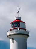 Lighthouse at Sletterhage in Denmark, detail Royalty Free Stock Photography