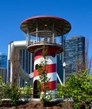 Lighthouse Slide At Maggie Daley Park Royalty Free Stock Photo
