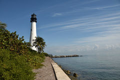 Lighthouse in South Florida Royalty Free Stock Photo