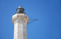Lighthouse in south italy Royalty Free Stock Image