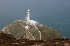 The Lighthouse at south stack Royalty Free Stock Image