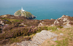 The Lighthouse at south stack Royalty Free Stock Photos
