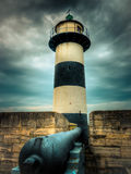 The lighthouse of Southsea Castle Stock Photography