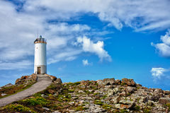 Lighthouse in Spain Royalty Free Stock Images