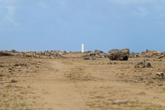 Lighthouse Spelonk, Bonaire Royalty Free Stock Image