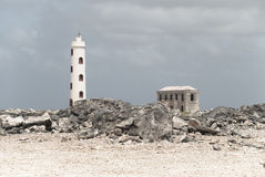 Lighthouse Spelonk, Bonaire Stock Photography