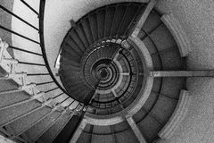 Lighthouse Spiral Staircase Stock Images