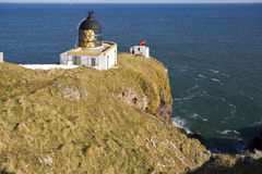 Lighthouse at St Abbs Head. Stock Image