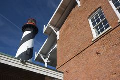 Lighthouse in St. Augustine Stock Photo