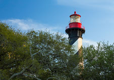 Lighthouse at St. Augustine Royalty Free Stock Image