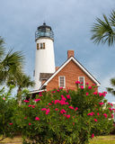Lighthouse on St George Island Stock Photo