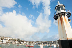 Lighthouse at St Ives. Royalty Free Stock Photo