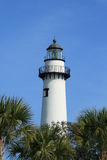 Lighthouse on St Simons Island Royalty Free Stock Photos