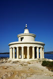 Lighthouse of St. Theodore at Argostoli, Kefalonia, Ionian islands, Greece Royalty Free Stock Images