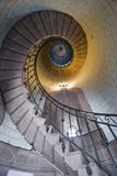 Lighthouse staircase 1 Royalty Free Stock Photos