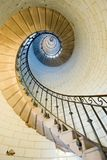 Lighthouse staircase 2 Royalty Free Stock Images