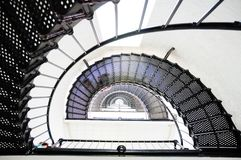 Lighthouse staircase going up Stock Photography