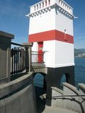 Lighthouse in Stanley Park, Vancouver, Canada Royalty Free Stock Photos
