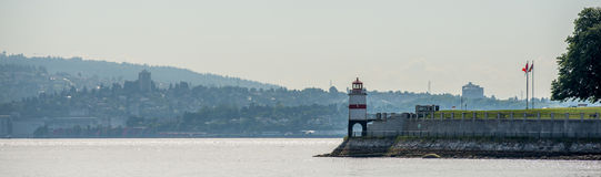 Lighthouse Stanley park Vancouver Canada Stock Photography