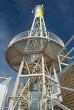 Lighthouse Steel Construction Stock Photo
