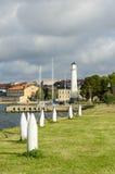 Lighthouse Stumholmen Karlskrona Royalty Free Stock Photography
