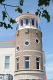 LIghthouse style building in Mackinaw City Michigan Royalty Free Stock Photos