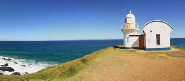 A Lighthouse on a Summer Day Stock Photography