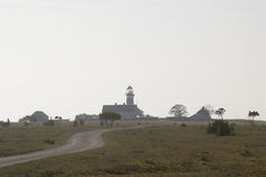 Lighthouse during summer.JH. Lighthouse on the island gotland in the balticsea in Sweden.JH stock images
