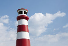 Lighthouse in the sun Royalty Free Stock Photography