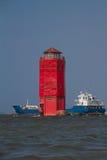 Lighthouse of Sunda Kelapa harbour Jakarta, Indonesia Stock Photography
