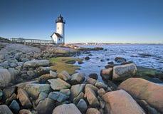 Lighthouse sunrise Stock Photos
