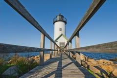 Lighthouse at sunrise Royalty Free Stock Image