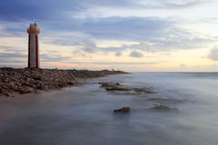 Lighthouse at Sunrise Royalty Free Stock Images
