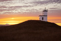 Lighthouse At Sunrise Royalty Free Stock Photo