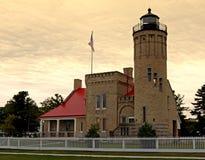Lighthouse at Sunrise Royalty Free Stock Photography