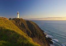 Lighthouse at sunrise Royalty Free Stock Images