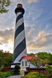 Lighthouse sunset Royalty Free Stock Photo