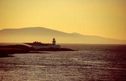 Lighthouse at sunset Royalty Free Stock Photos
