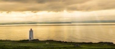 Lighthouse Sunset Royalty Free Stock Images