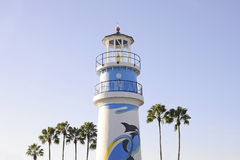 Lighthouse in sunset light in Orlando. Florida royalty free stock photography