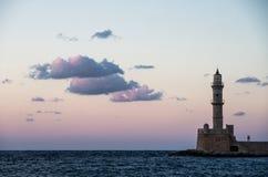 Lighthouse on sunset Royalty Free Stock Photography