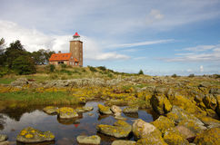 Lighthouse in Svaneke. Stock Images