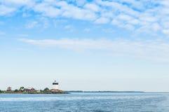 Lighthouse Svartklubben Sweden Stock Image