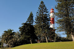 The lighthouse in Swakopmund, Namibia Stock Photo
