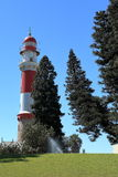 The lighthouse of Swakopmund in Namibia royalty free stock image