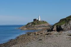 Lighthouse Swansea Stock Image