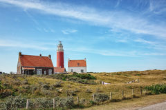 Lighthouse - a symbol of light, hope and the right way. Royalty Free Stock Photos