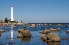 lighthouse tahkuna Στοκ φωτογραφία με δικαίωμα ελεύθερης χρήσης