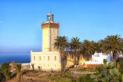 Lighthouse of Tangier in the Kingdom of Morroco Royalty Free Stock Photo