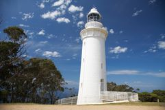 Lighthouse, Tasmania Stock Photography